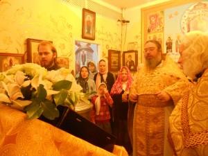 Пение тропаря Св. прав. воину Феодору Ушакову
